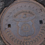 Columbus OH Manhole Cover in Clintonville