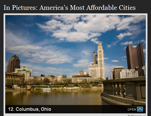 America's Most Affordable Cities - Columbus Ohio