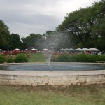 Fountain at Park of Roses