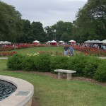 Park of Roses during Clintonville Rose Festival