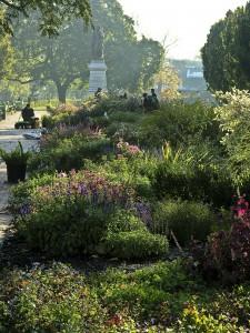 Columbus OH Huntington Garden in Schiller Park