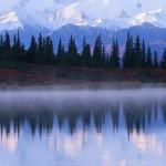 Alaskan Range Reflected in Wonder Lake