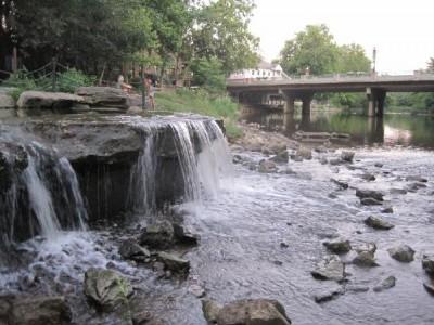 Waterfall OhioTea Aug 2011