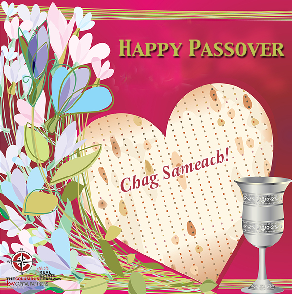 Wishing you and your family a happy passover the columbus team tct passover flowers glass m4hsunfo