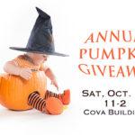 Annual Pumpkin Giveaway!