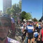Patrick at Pelotonia 17 - riding for the James Cancer Center