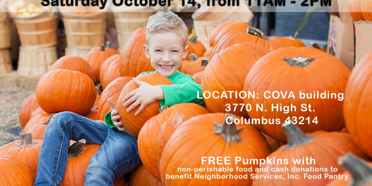 Clintonville Pumpkin Patch Feeds the Hungry!