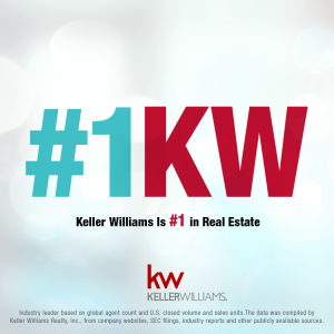 KW is #1 in Real Estate. Join our team.