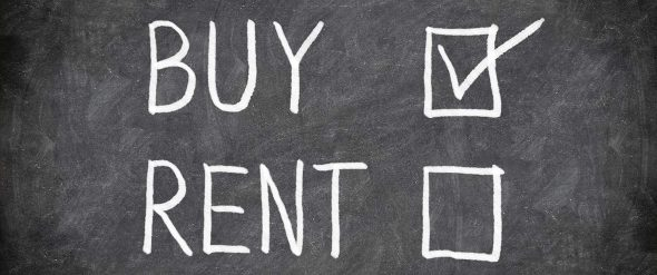 Make the Leap from Rent to Mortgage! (chalkboard rent to buy)