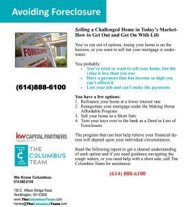 Avoiding Foreclosure Report