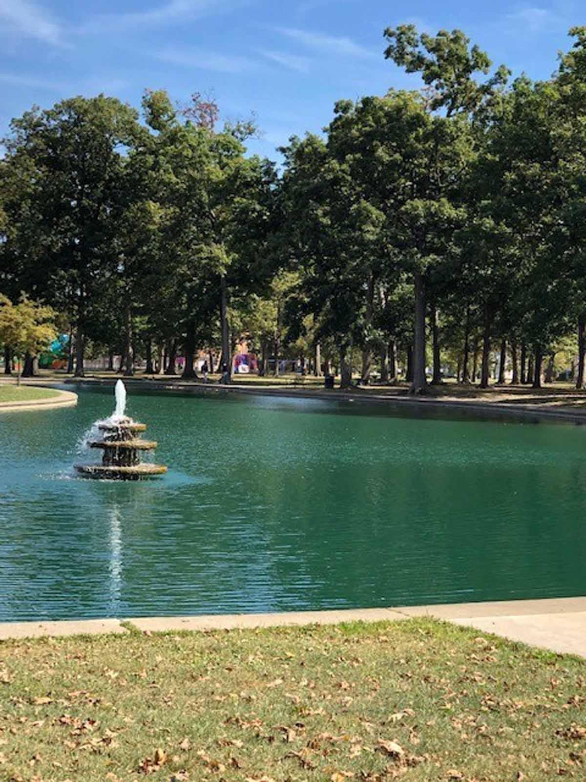 Westgate Park pond 42